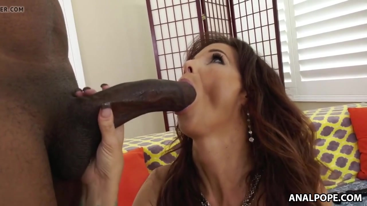 Gorgeous MILF bbc anal destruction