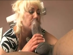 Dana Hayes fucks bbc doctor in front of son
