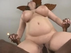Your big titted bbw mom gets black dick