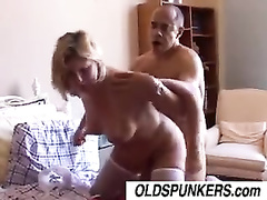 Older mature mom gets fucked by big black cock