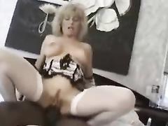 Amateur white mature mom Colette Sigma interracial dp creampie