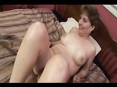 Interracial porn fucked by a big black dick