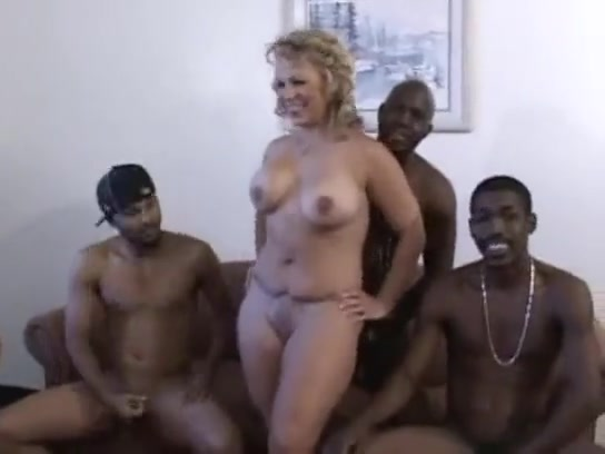 Amateur Blonde Wife Shared Bbc