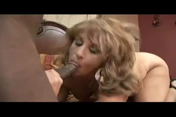 Blonde busty mom bbc interracial anal doggystyle