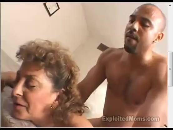 Amateur granny cuckold with big black cock