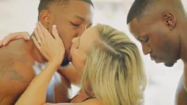White blondes vs BBC's kissing compilation