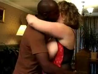 Curly bbw wife gets fucked by very big black