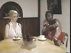 Retro blonde BBW hotwife fucked by BBC